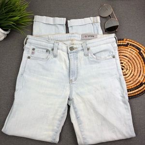 AG Adriano Goldschmied Roll Up jeans